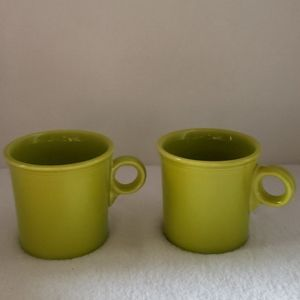 Fiestaware by Homer Laughlin Set of 2 Mugs
